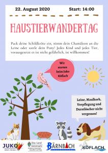 3. Köflacher Haustierwandertag @ JUKO Köflach | Köflach | Steiermark | Österreich