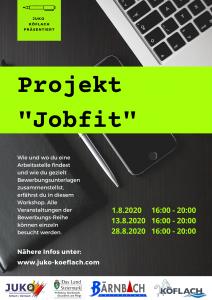 """Projekt Jobfit"" Part 3 @ JUKO Köflach | Köflach | Steiermark | Österreich"