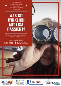 Was ist wirklich mit Lisa passiert?? @ JUKO Köflach | Köflach | Steiermark | Österreich